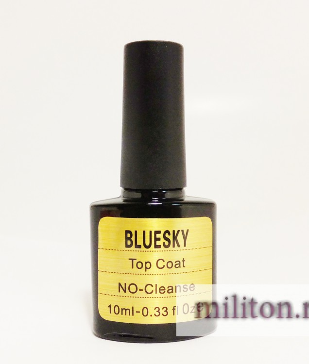 Bluesky Top Coat No-cleanse KG (ЭФФЕКТ золота)