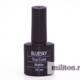 Bluesky Matte Top Soak Off Gel 10ml