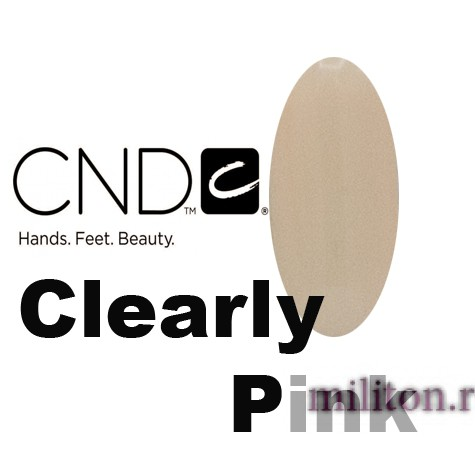 CND Clearly Pink